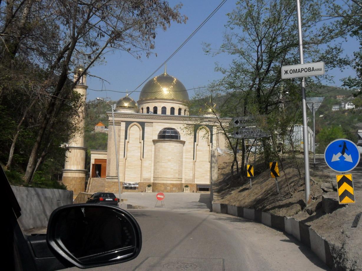 Mosque en route