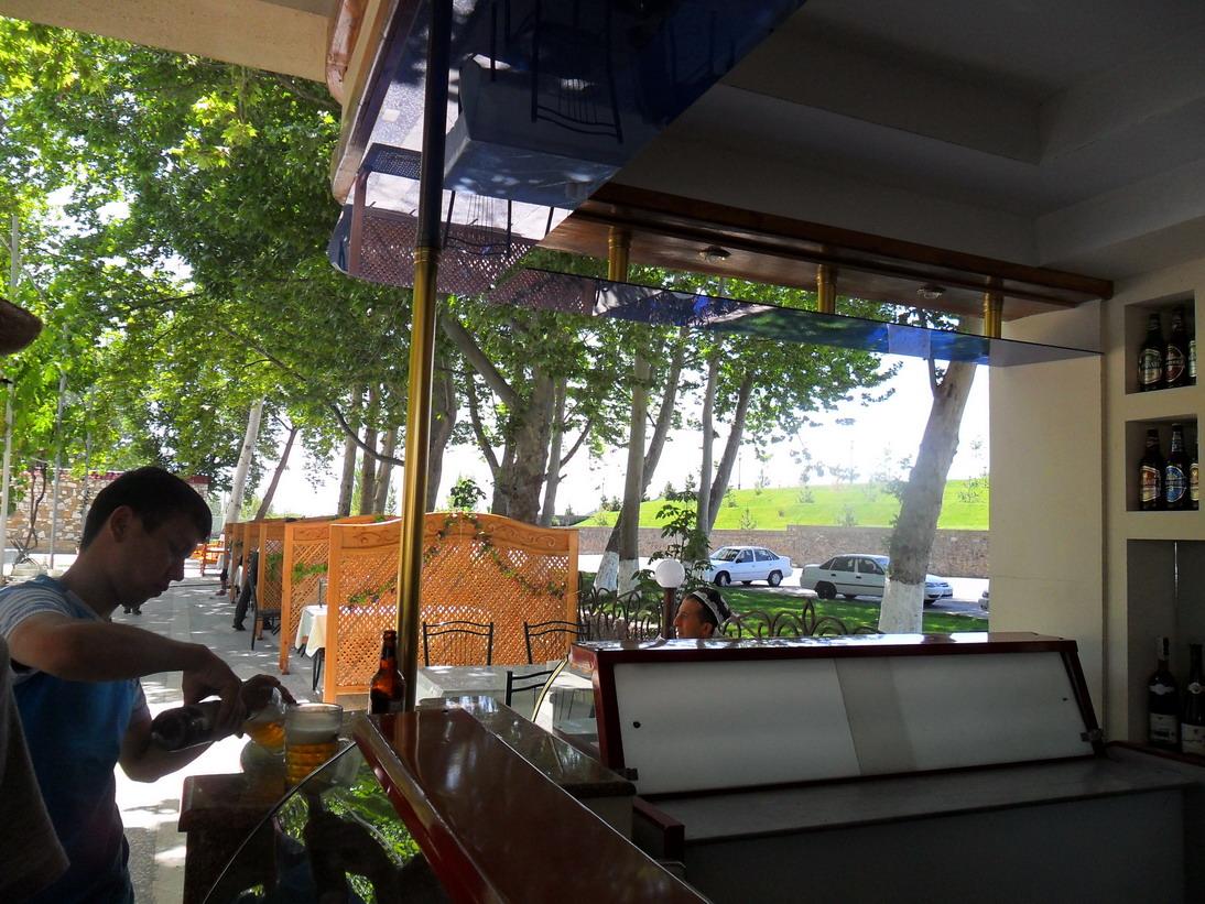 Open air rastaurant