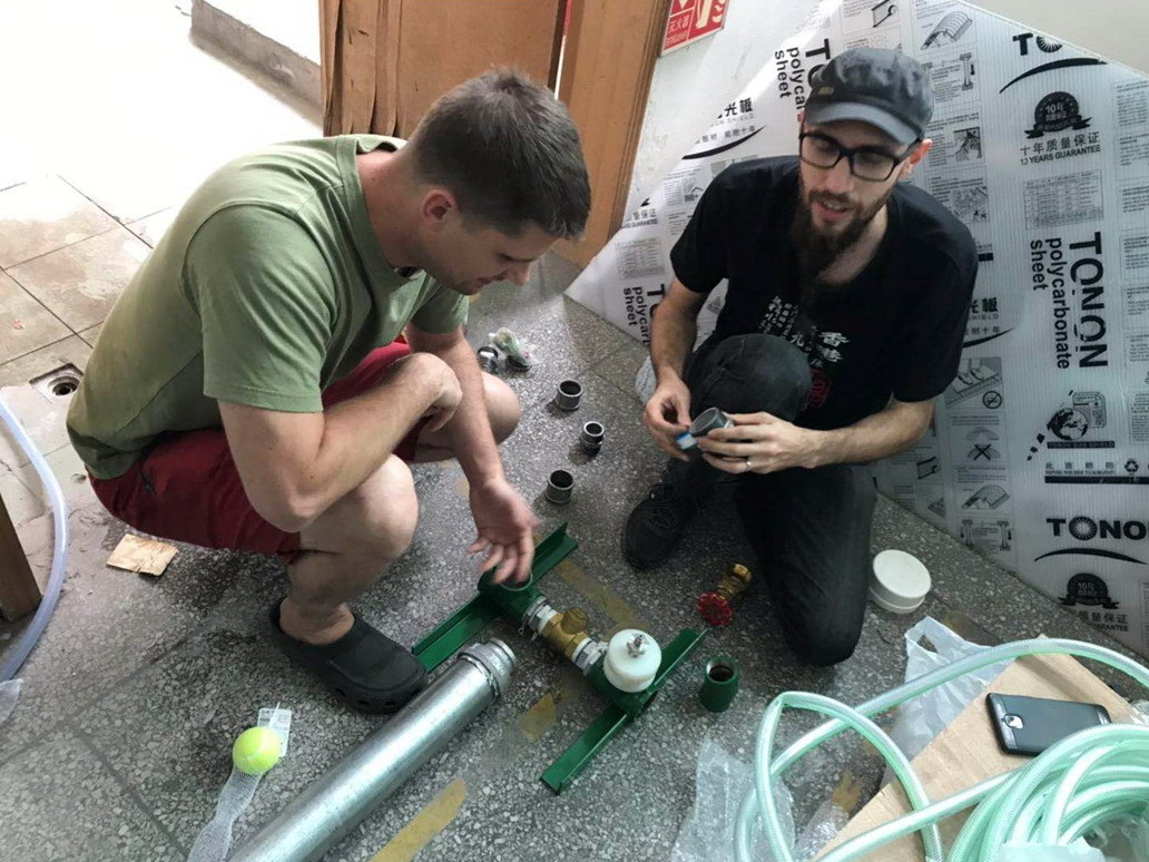 Ram pump workshop