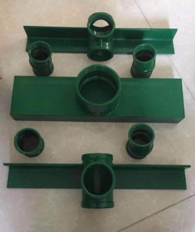 Set of welded kit-set parts